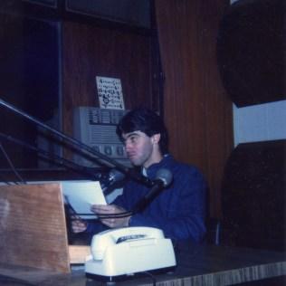 Rádio Municipal de Tenente Portela - RS. 1987