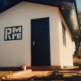 Sede da Rede Maranatha em Miraguaí - RS. 1986
