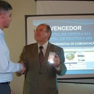 Com o pastor Edson Rosa, no encontro Comunicando Jesus