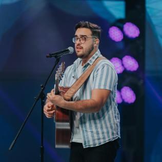 Pedro Valença cantou em todos os dias do evento. Foto: Ellen Lopes
