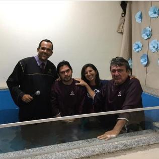 Batismos. (Foto: Arquivo Pessoal).