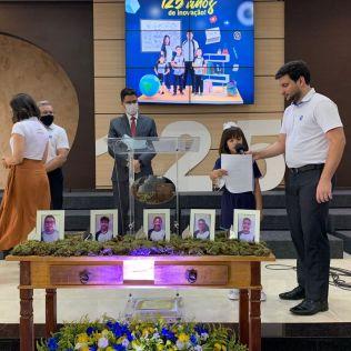 Cerimônia comemora os 125 anos da educação Adventista. (Foto: Divulgação)