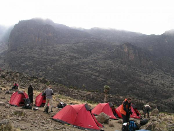 Machame Route Camps