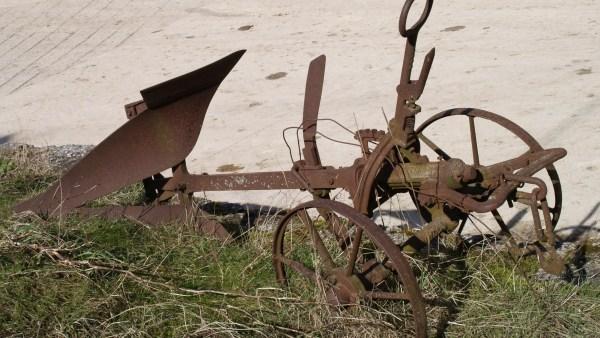 Arado é importante para o trabalho de germinação do solo