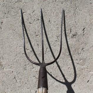A forquilha e o seu uso voltado para agricultura e jardinagem