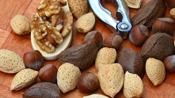 Frutos secos são ótimas opções para quem busca qualidade de vida
