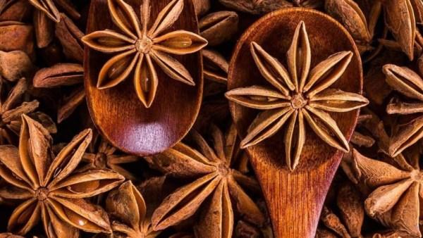 Anis estrelado é uma planta muito usada na culinária e na medicina