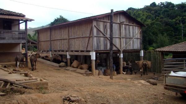 Paiol pode ser um armazém ou depósito, utilizado para vários fins