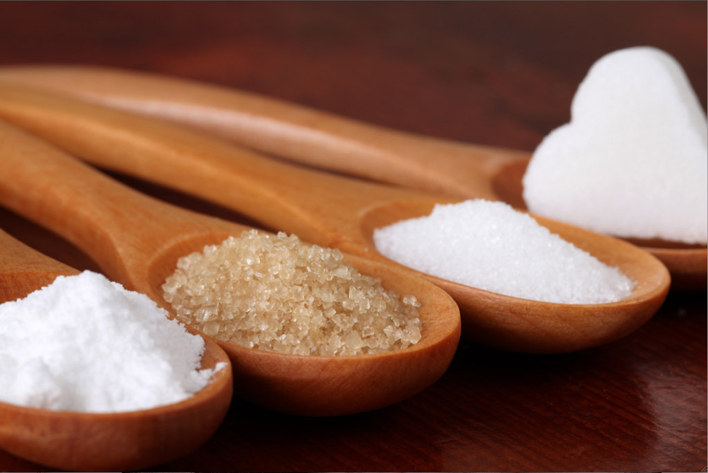 tipos de açúcar