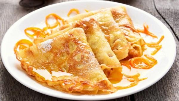 Crepes, feitos com farinha de trigo, leite e ovos, são deliciosos