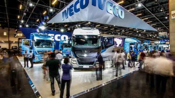 Fenatran é um evento do setor de transporte rodoviário de carga