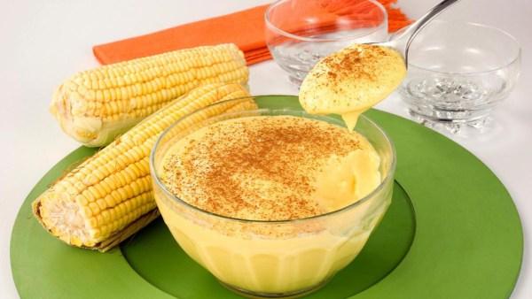 Curau é um doce pastoso que tem o milho como principal ingrediente