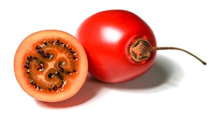 Tamarilho é um fruto comestível cujo formato lembra um ovo