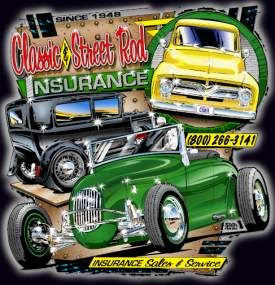 Classic Car And Street Rod Insurance