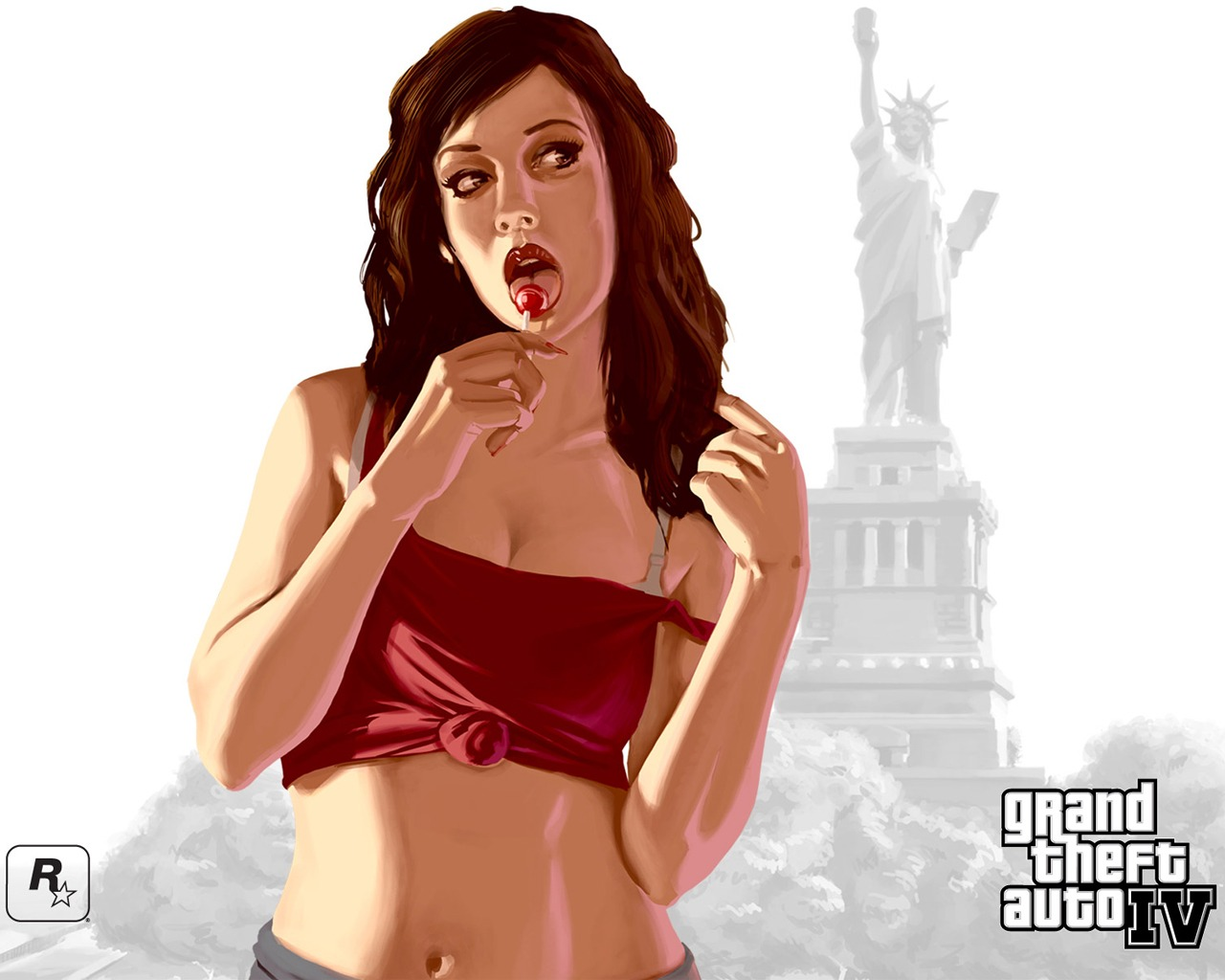 Grand Theft Auto Wallpaper Girl Gta 4 Girl Wallpaper Gta Iv Games Wallpapers In Jpg Format