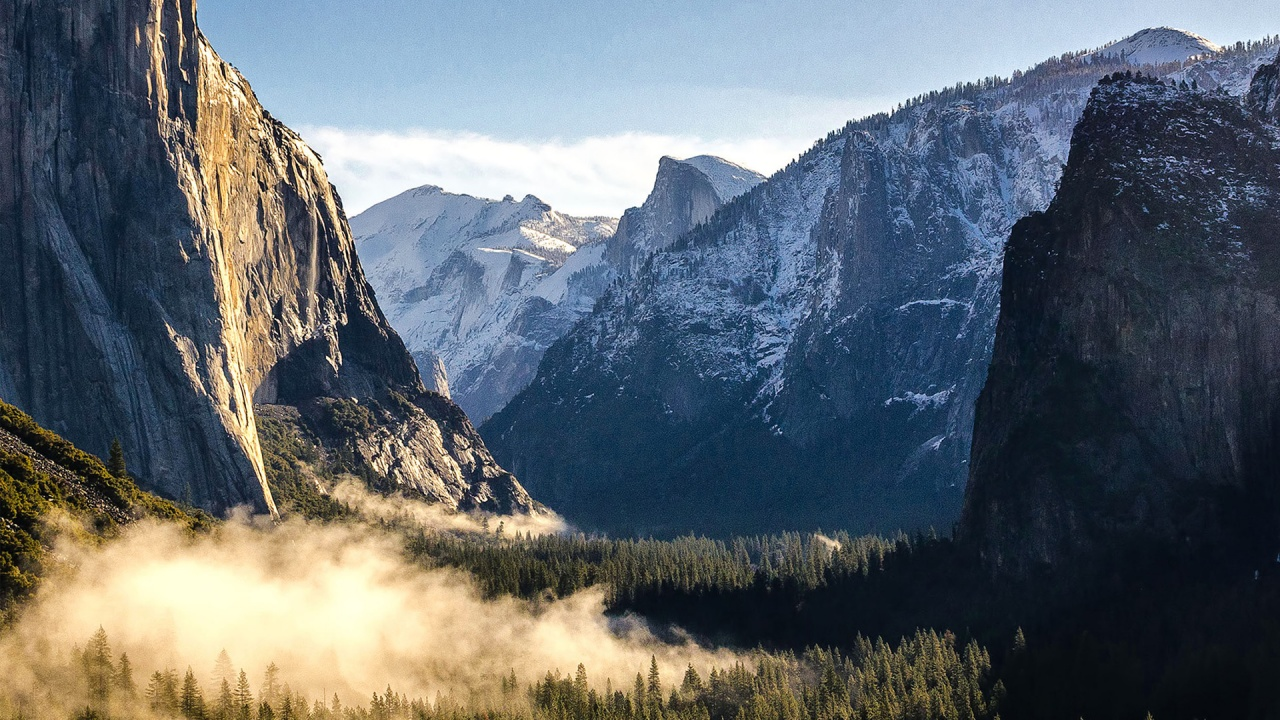Free Animated Fall Wallpaper Mountains Of Yosemite National Park Wallpapers In Jpg