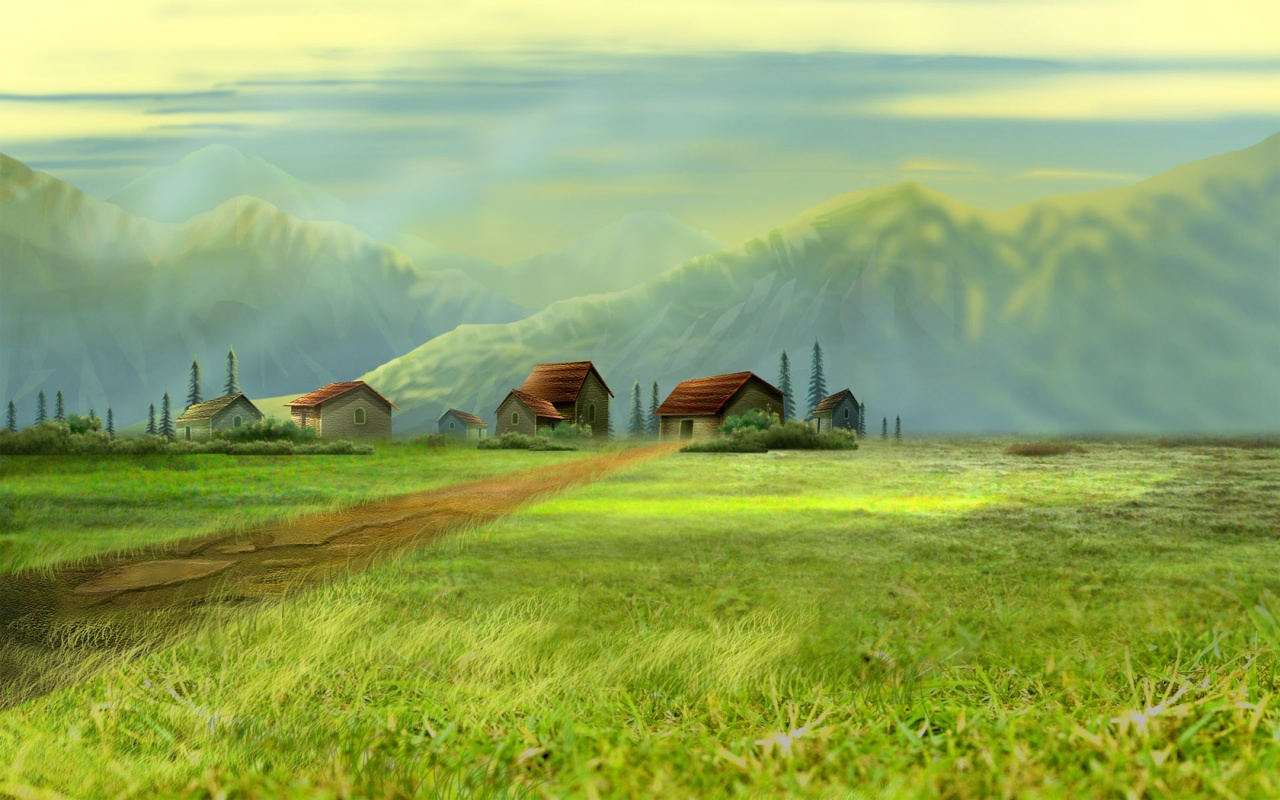 Dreamy Girl Wallpapers Dream Village Wallpapers In Jpg Format For Free Download