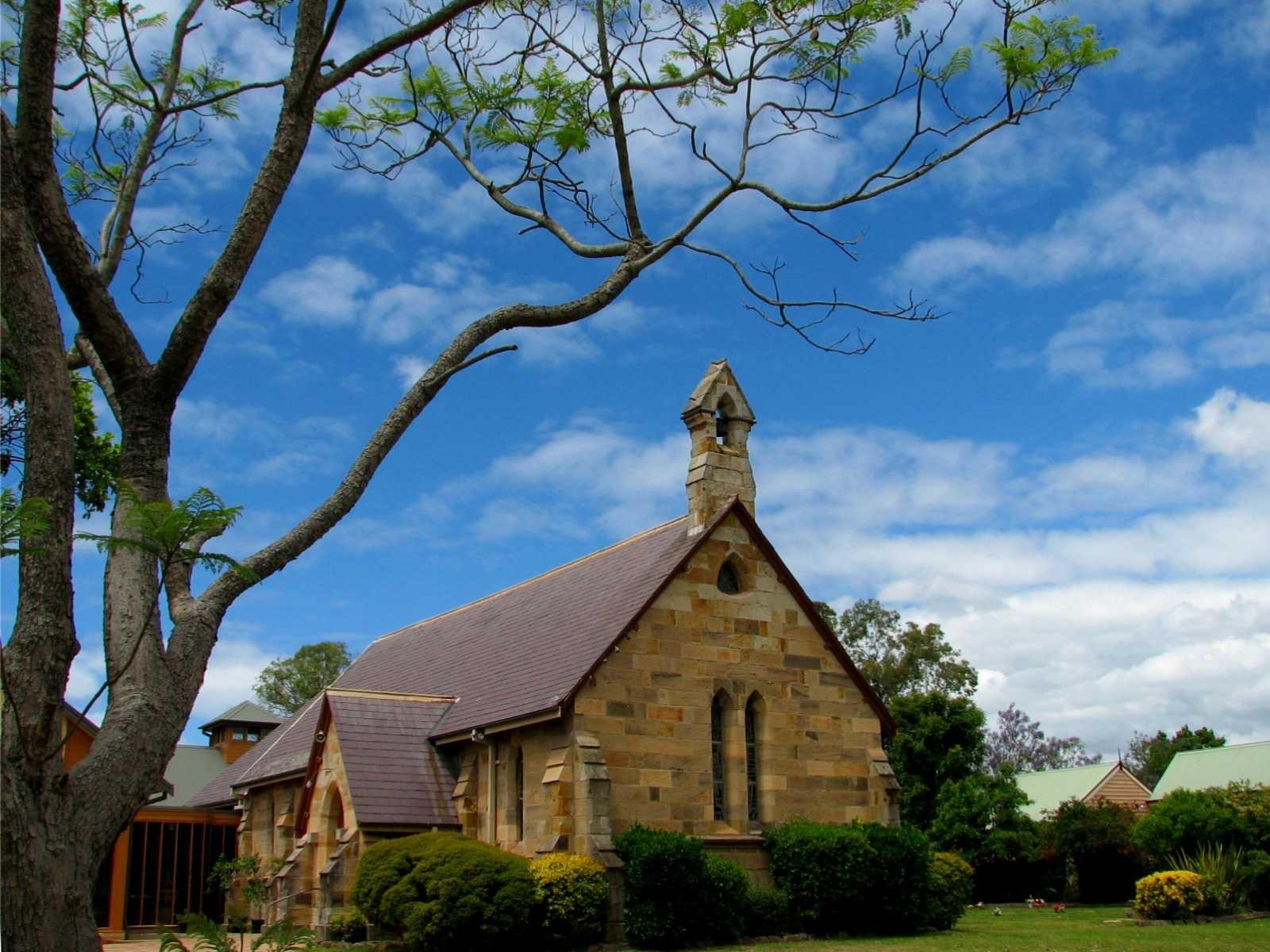 Girls Wallpaper Rainbow St John S Anglican Church Wallpaper Australia World