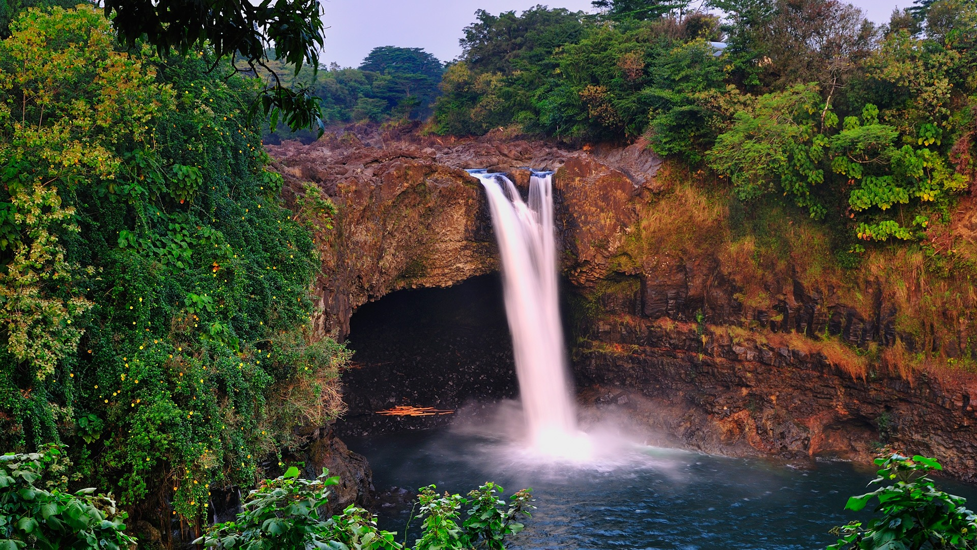 Akaka Falls Wallpaper Rainbow Falls Wallpaper Waterfalls Nature Wallpapers In