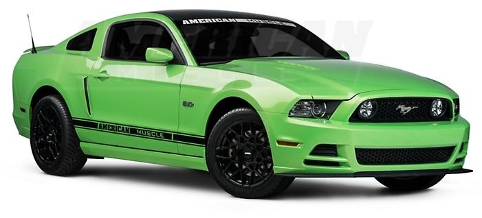 Shelby GT500 Wheels - Godda Have It Green Photo
