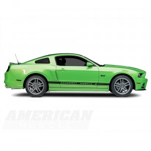 Charcoal Finish 2013 Ford Mustang Laguna Seca Rims
