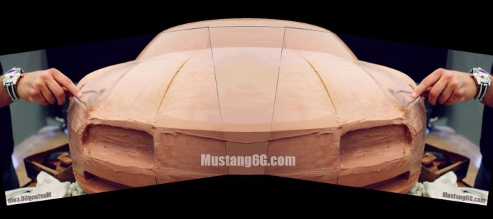 Clay 2015 Ford Mustang Concept Design