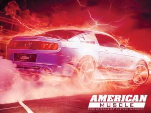1024x768 Ectoplasm Mustang