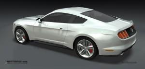 2015 Mustang Final Rear Rendering
