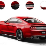 Rear 2015 Ford Mustang Mach 1 Rendering by TopSpeed - AmericanMuscle