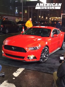 2015 Ford Mustang at Good Morning America