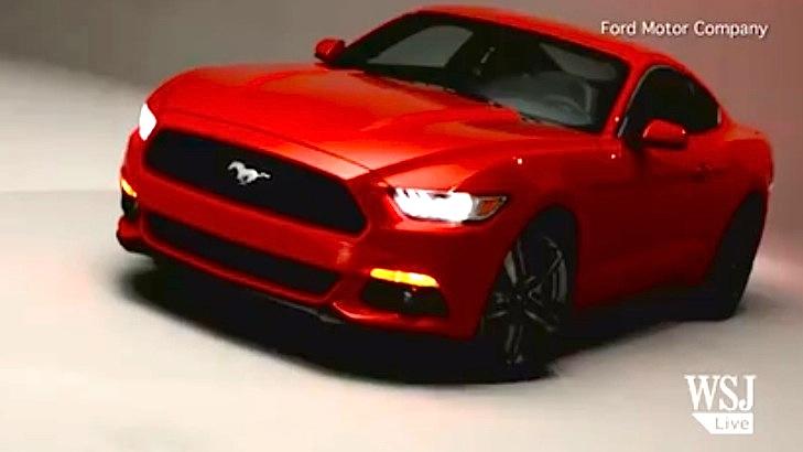 WSJ 2015 Mustang Video