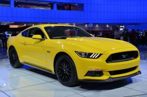 2015 Mustang GT - Triple Yellow