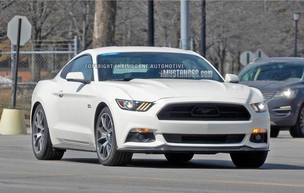spied the 2014 5 anniversary edition ford mustang blog. Black Bedroom Furniture Sets. Home Design Ideas