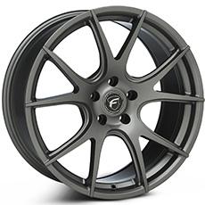 Gunmetal Forgestar CF5V Monoblock Wheels