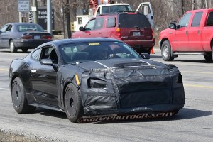 Newest GT350 Mustang Spied