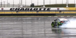 Vaughn Gittin Jr Drifting at Mustang 50th Birthday