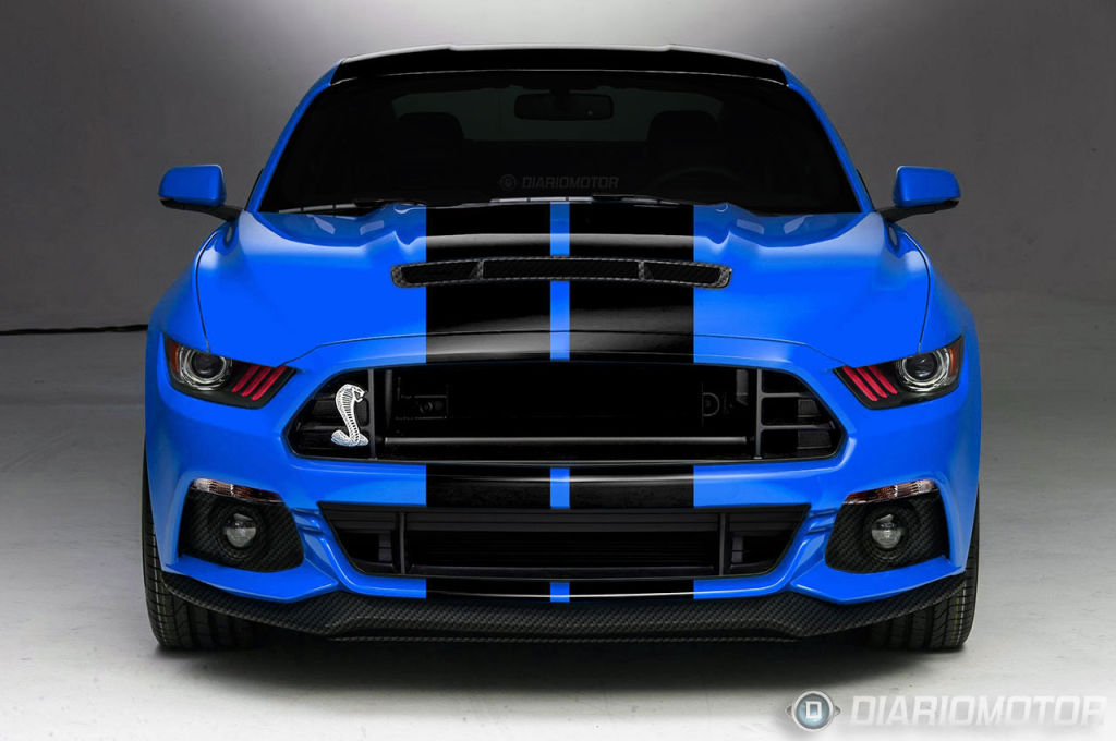 2015 Mustang GT350 / GT500 Carbon Fiber