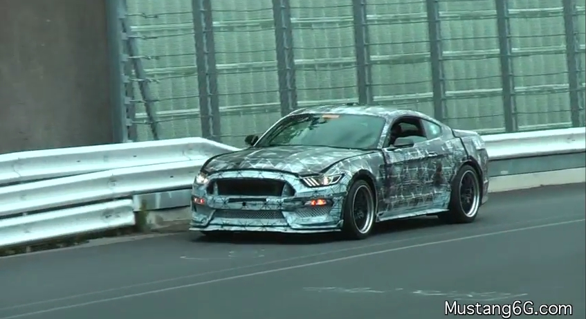 Shelby GT350 Racing @ Nurburgring - Video