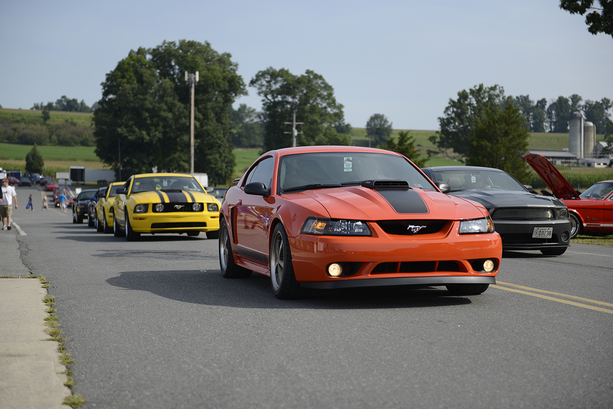 1999-2004 Mach 1 Mustang Rolling shot