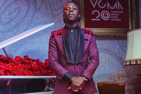 """#VGMA20: """"I'm really sorry"""" - Stonebwoy apologizes for pulling a gun on stage."""