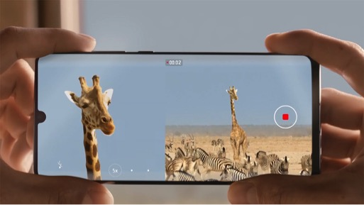 Creating your own Video with Huawei P30's Dual-View Video