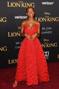 "PHOTOS:  Beyonce and more attend world premier of ""The Lion King"" 10"