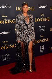 "PHOTOS:  Beyonce and more attend world premier of ""The Lion King"" 2"