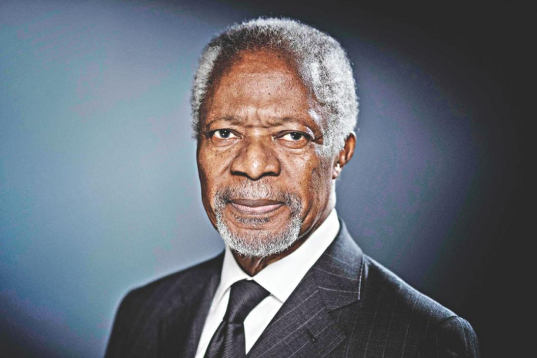Remembering Kofi Annan… one year on!!!