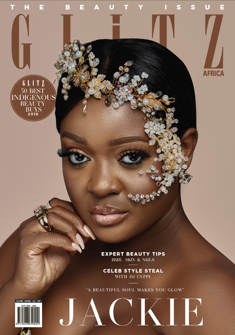 Glitz Africa Magazine Issue 24 is the beauty edition with Jackie Appiah