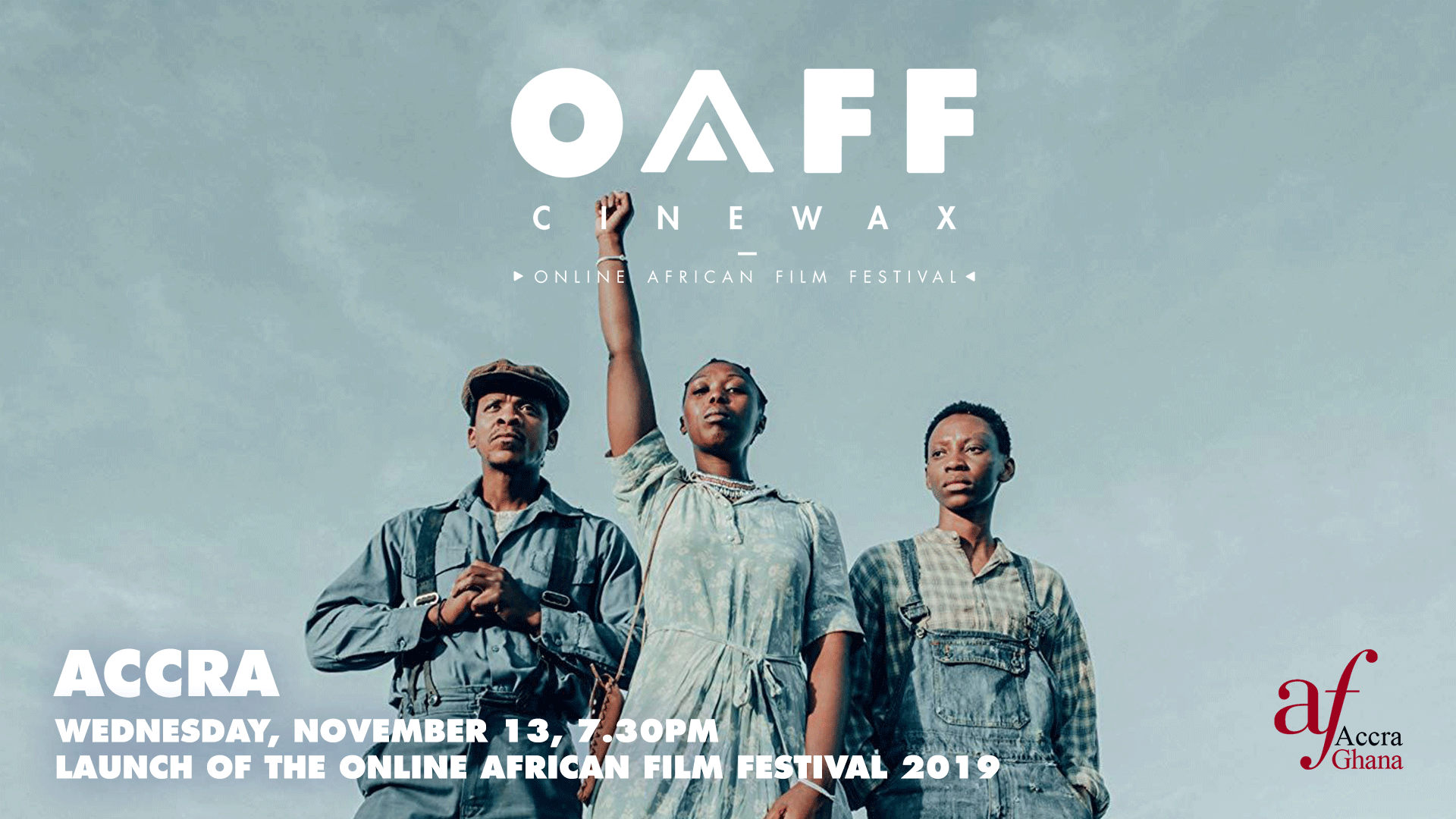 Cinewax Online African Film Festival  Ghana launch set for November 13