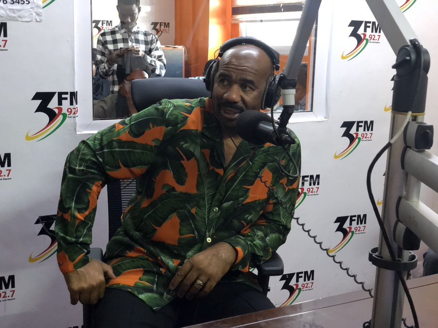 Giovani Caleb's '3FM Drive' is the best radio show I have enjoyed in Ghana – Steve Harvey