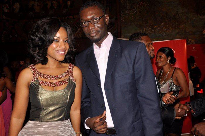 Ameyaw Debrah with Joselyn Dumas