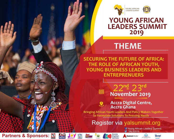 Young African Leaders Summit to be held in Accra on November 22-23