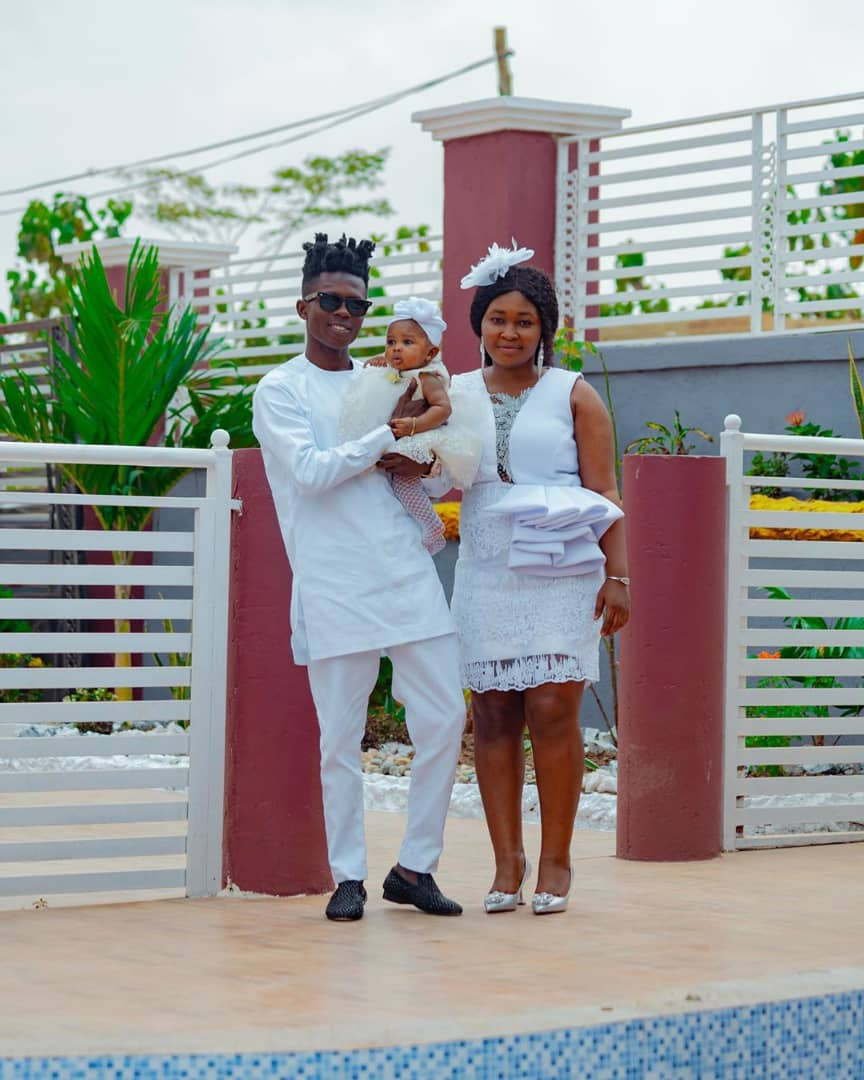 Photos: Strongman christens his daughter